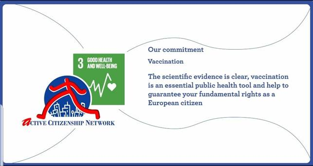 European active citizens for vaccines promotion 2019
