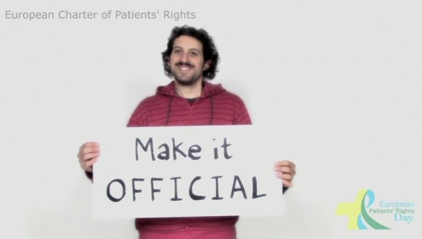 European Charter of Patients Rights 4th International Patients Right Day