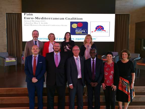 Sharing good practices against pain Pain Euro Mediterranean Coalition Annual Meeting 2
